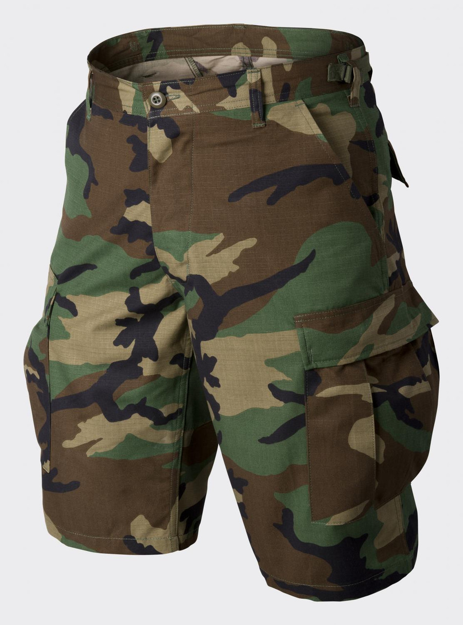 Шорты тактические Helikon-Tex® BDU Shorts CR - US Woodland