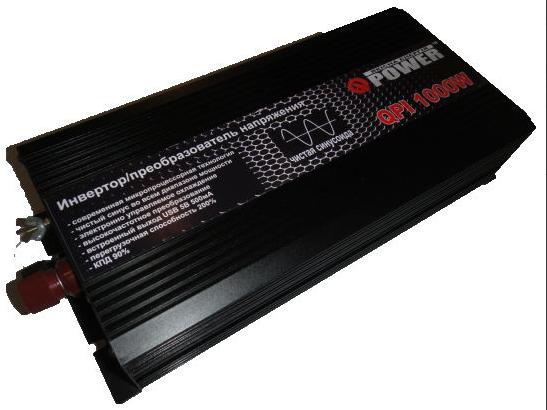 Инвертор Q-Power QPI-1000-24 1000Вт 24В