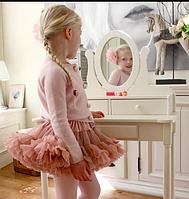 Пушистя  юбка - пачка для девочки