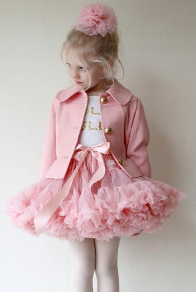Маленькие девочки в юбках пачках