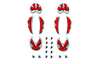 Sidi Carbon Ground Inserts №59 Red