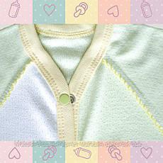 Комбинезон-Человечек для Мальчика, новорожденным от 30-35 недель, Хлопок-Ажур летний,В наличии 44,50 Рост, фото 2