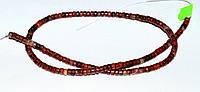 Красная яшма, бусины, шайба ф4,5 х 2,5 мм.