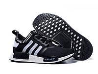 """Кроссовки мужские Adidas NMD Runner PK """"Black Grey"""""""
