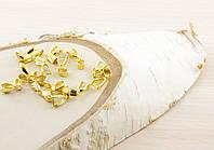 Зажим для кулона золото (18 мм)