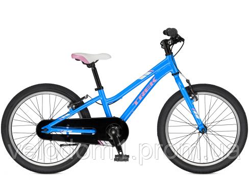"Велосипед Trek Precaliber 20"" SS Girl blu.2018"