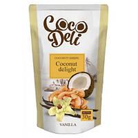"""Кокосовые чипсы  """"CocoDeli"""" с ванилью"""