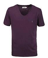 Мужская футболка  в стиле All Saints, фиолетовая, фото 1