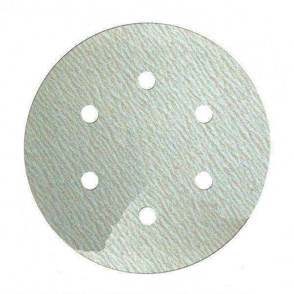 Шлифовальный круг Klingspor PS 73 BWK P150 Ø 150 на липучке с отверстиями