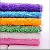 Бамбуковая салфетка для мытья посуды без моющих средств высший сорт 18x17см, фото 2