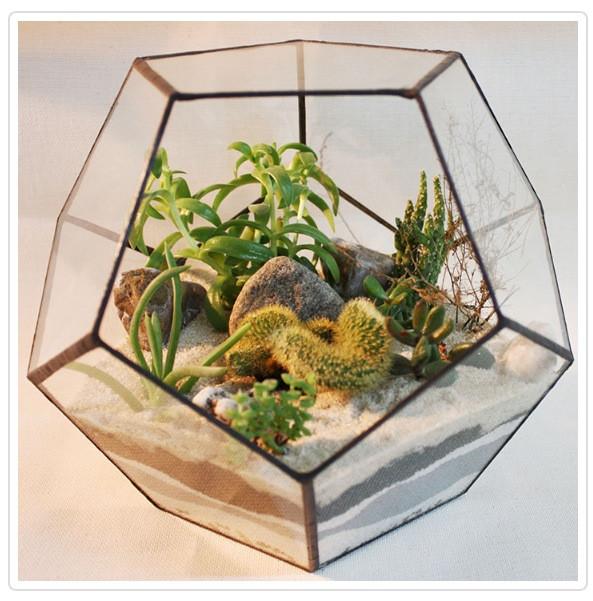 Флорариум  для цветов( Додекаэдр )200х200