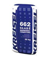 KREISEL 662 Цементно-известковая шпатлёвка для наружных работ, 25 кг