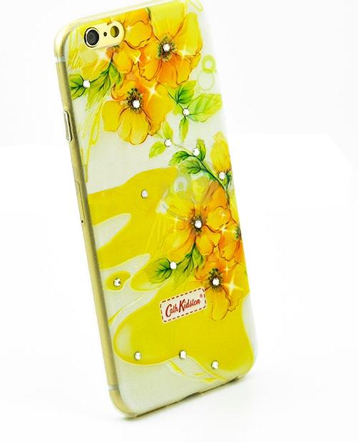 Чехол накладка силиконовый Diamond для LG K8 K350E Cath Kidston Light of Spring