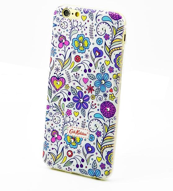 Чехол накладка силиконовый Diamond для LG K8 K350E Cath Kidston Lovely Dreams