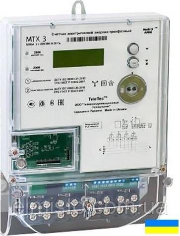 Электросчетчик MTX 3G20.DD.3Z3-CD4 3ф. 5(10)А, 0,5S/2, A±,R± датчик магн.поля, без реле