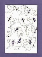 Чипборд набор от студии ПроСвет - Купидоны, 14 элементов