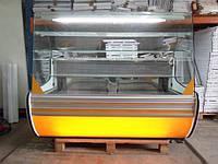 Кондитерские и холодильные среднетемпературные витрины  от Польского производителя Cold  б/у