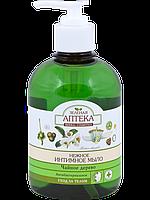 """Нежное мыло для интимной гигиены Антибактериальное ТМ """"Зеленая аптека"""", 370 мл."""