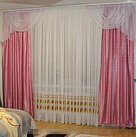 Готовые шторы с декором №233 (С.У.)
