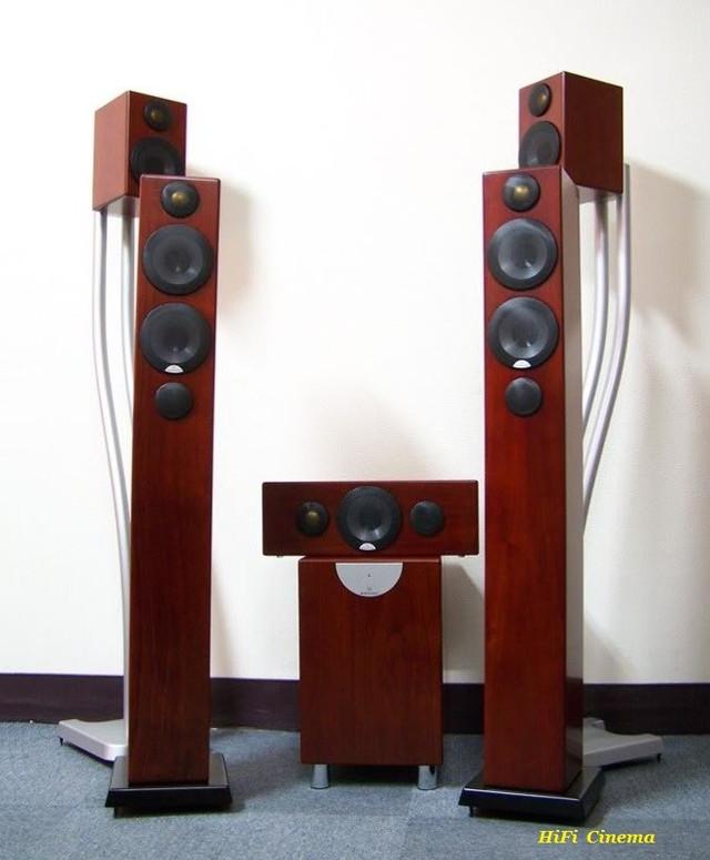 Monitor Audio Radius 5.1 Home Cinema Walnut color