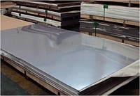 Лист нержавеющий 0,5х1000х2000мм, AISI 430 (08X17), NO4/PE (шлиф в плёнке)