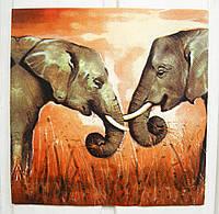 Салфетка для декупажа Слоны 33*33 см, 1 шт