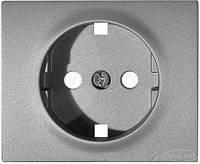 Legrand лицевая панель Legrand Galea Life для розетки 1 пост., aluminium (771320)