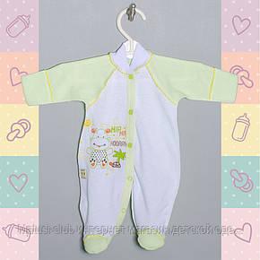 Комбинезон-Человечек для Девочки, новорожденным от 30-35 недель, Хлопок-Ажур летний,В наличии 44,50 Рост, фото 2