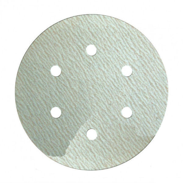 Шлифовальный круг Klingspor PS 73 BWK P1500 Ø 150 на липучке с отверстиями