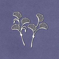 Чипборд Wycinanka — Цветы в стиле модерн, набор