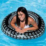 """Пляжный надувной круг Intex """"Шина"""" (91 см), 59252"""