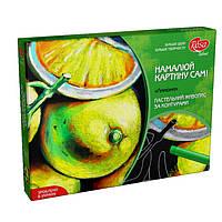 """Набор для творчества, пастельная живопись за контурами """"Лимоны"""""""