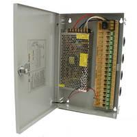 Блок питания BOX 12010/12V-10А, блок питания для систем видеонаблюдения, импульсный блок питания питания