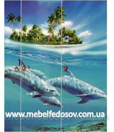детская мульти фасад дельфины