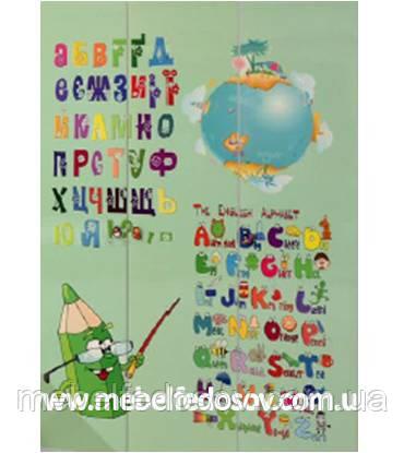 детская мульти фасад алфавит
