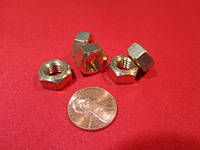Гайка М16 шестигранная латунная ГОСТ 5915-70, ГОСТ 5927-70, DIN 934, фото 1