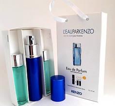 Kenzo L`eau par pour Homme edt 3x15ml - Trio Bag