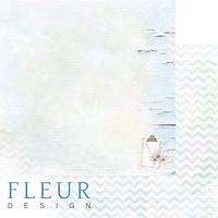 Лист бумаги Fleur Design, Мой день - Записи, 30x30 см, 1 шт