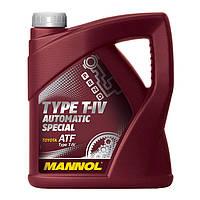 Трансмиссионное масло MANNOL TYPE T-IV AUTOMATIC SPECIAL 60л