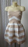 Платье шикарное бандажное River Island р.42 6831