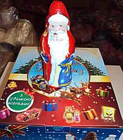 Шоколадная фигурка Дед Мороз с сюрпризом 12 шт. 120 г
