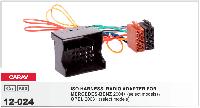 ISO Переходник MERCEDES-BENZ 2004+/ OPEL 2003+, CARAV 12-024