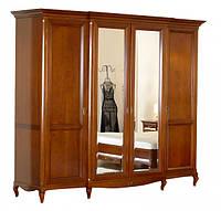 Шкаф 4-х дв. (2 зерк двери), фото 1