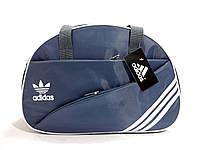 Спортивная серая сумка Adidas (Адидас) с длинным ремешком. Недорого