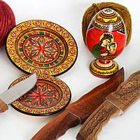 Деревянные карпатские сувениры
