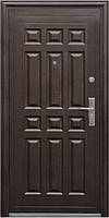 Входная металлическая дверь Двери Оптом Стандартные ТР-С 13 молоток / бархатный лак 860