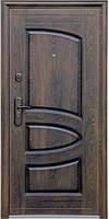 Стандартная входная металлическая дверь Сезон Плюс Тёплый стандарт 127+ бархатный лак 860