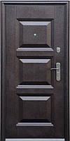 Стандартная входная металлическая дверь Сезон Плюс Тёплый стандарт 143+ молоток / бархатный лак 860