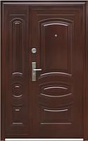 Нестандартная входная металлическая дверь Двери Оптом TP-C 31+ медь