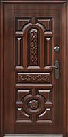 Стандартная входная металлическая дверь Сезон Плюс Тёплый стандарт 150+ светлая медь 860
